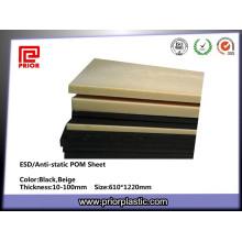 Пом Пластиковые лист ESD от предварительной пластической