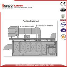 Kanpor 50MW Propane Gas Trubine Power Generating Set