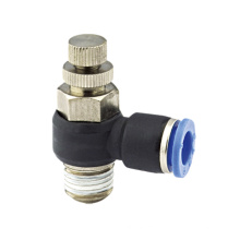 pneumatic tube joint speed controllers NSE fitting 4mm 6mm 8mm 10mm 12mm 16mm