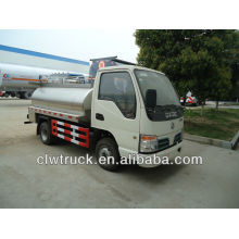 Dongfeng 3-5 tons milk tank vehicle for sale