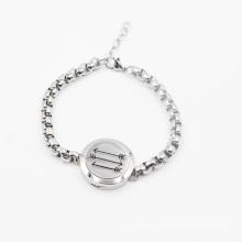 Latest Design Hot Sale 316L Stainless Steel Oil Diffuser Locket Bracelet