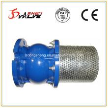 Stummschaltventil für die Regelung des Durchflusses in einer Rohrleitung