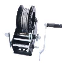 Treuil à main avec corde en fil d'acier