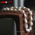 Fashion High Quality Big Nucleated Baroque Natural Pearl Necklace Jewellery (E130086)