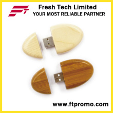 Mini bambu presente personalizado & madeira USB Flash Drive (D824)