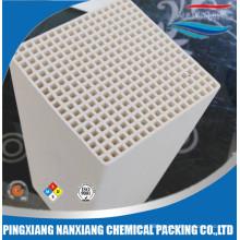 Alumina, mullite, cordierite ceramic honeycomb monolith Heat exchanger for RTO 150*150*150/300mm