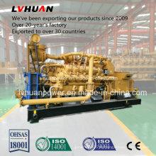 con generador de gas Stamford Alternator1000rpm 500kw o 600kw Generador de gas industrial Generador de China Marca Lvhuan