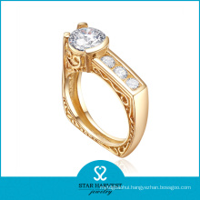 Wholesale Square 925 Sterling Silver Ring with Low MOQ (R-0553)
