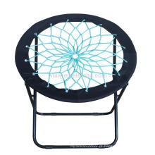 Cadeira de bungee dobrável redonda
