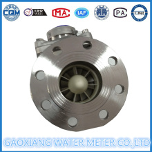 Dn50mm, medidor de água do pulso da flange do aço inoxidável