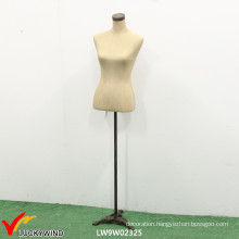 Competitive White Female Dress Form with Base and Necktop