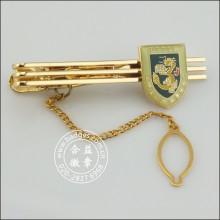 Clip de encargo del lazo del oro, Metal Stickpin (GZHY-TC-073)