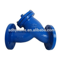 double flange end Y strainer