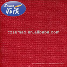 Red Privacy Fence Netting , Hdpe Anti Uv Screen Net For Courtyard