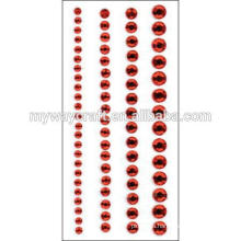 factory provide rhinestone crystal sheets stickers