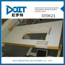 DT0624 dobrável mesa de máquina de costura industrial com roda
