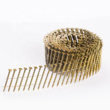 2x.099 inch coil nails 1/4  Painted Pallet coil nail