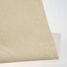 Cuero PU de doble color con textura gruesa