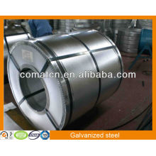 Горячего алюцинк оцинкованная стальная катушка AZ 80 г/м2, рулон оцинкованной стали, Китай завод