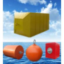 Defletores de borracha marinha com enchimento de espuma Pianc e ISO