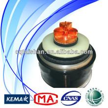 Cable caliente de la energía de la venta del cable de la energía de los fabricantes 500kV XLPE aisló el cable de energía eléctrico del PVC 1 * 2500