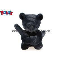 Unique Design Gift Black Teddy Bear in Long Arm Bos1121