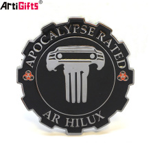 Custom design your own emblem Wholesale cheap stick on car badge