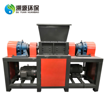 High Quality Double Shaft Wood Chipper Shredder Machine