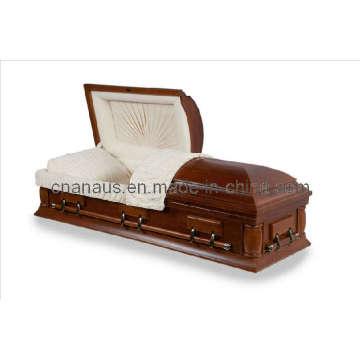 US Style cercueil bois chêne massif (5050039)