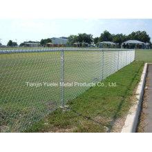Углеродистая сталь овец крупного рогатого скота забор, стальная труба безопасности забор, сталь сварных оцинкованных Power Coated Steel Fence
