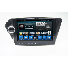 Kaier Factory directamente! Reproductor de DVD para Android android 4.4 para K2 + OEM + DVR + Dual core!