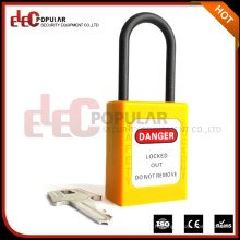 Slim Non Conductive Nylon Short Shackle Cadenas de sécurité ABS (EP-8531N)
