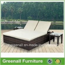 Moderne Outdoor Freizeit Gartenmöbel Doppelbett