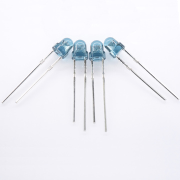 880nm LED infrarrojo 3 mm LED azul lente H4.5mm