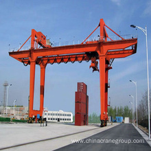 Wire Rope Rail Mounted Container Gantry Crane