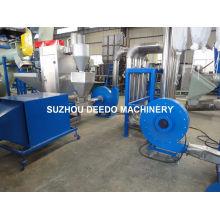 Machine de réutilisation de bouteille de HDPE