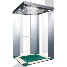 Aksen Mirror Stainless Steel Passenger Lift J0326