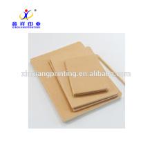 Wholesale New Design Kraft Paper Notebooks Custom Available