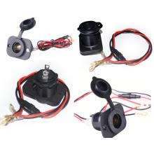 10A 120W 12-24V Car Motercycle Cigarette Lighter Socket Splitter Adapter