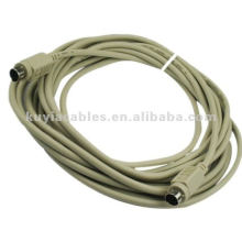 5M PS2 Keyboard Extension Cable For Extending your existing PS/2 mouse or keyboard cable