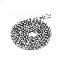 New Shiny Stainless Steel Metal Silver Neck Necklace Ball Chains