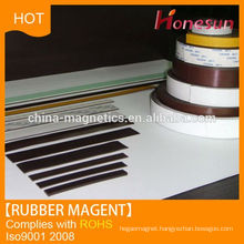 Educational and advertisement material rubber magner for magnetic door screen curtains and motor