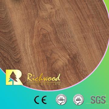 Material de construcción de madera laminado de madera del suelo del vinilo de 12.3mm HDF AC3