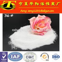 Calcined aluminium oxide polishing powder