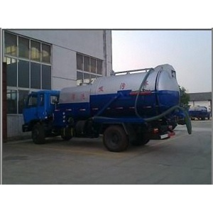 New Dongfeng vacuum sewage suction cleaning tanker truck
