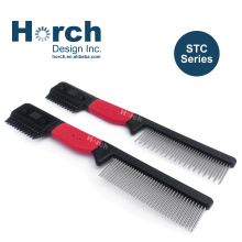 Innovative Pet Dog Grooming Comb with Razor and Changeable Blade