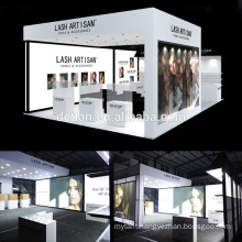 Detian Offer Large stall design and fabrication system exhibition stand