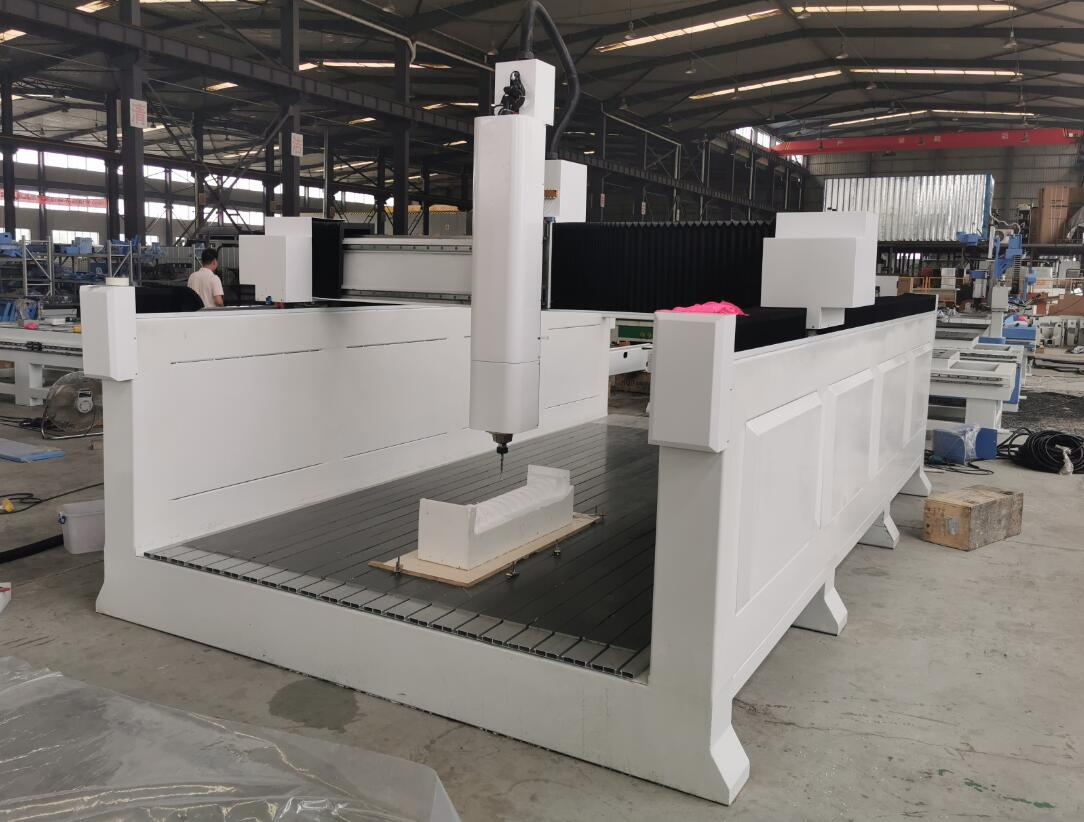 4 axis styrofoam router machine