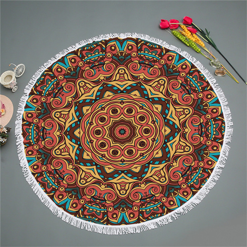 Round Towel Cotton