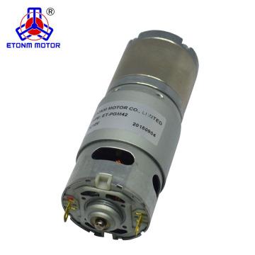 100kgcm 24 Volt Gleichstrommotor mit hohem Drehmoment